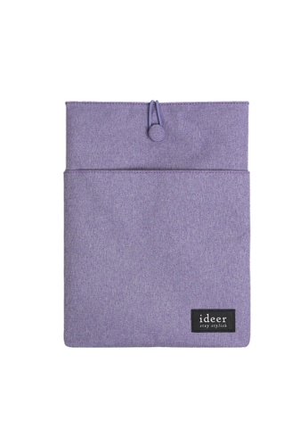 """ideer purple Ryman Lavender 12"""" Laptop Sleeve ID960AC16SEXHK_1"""