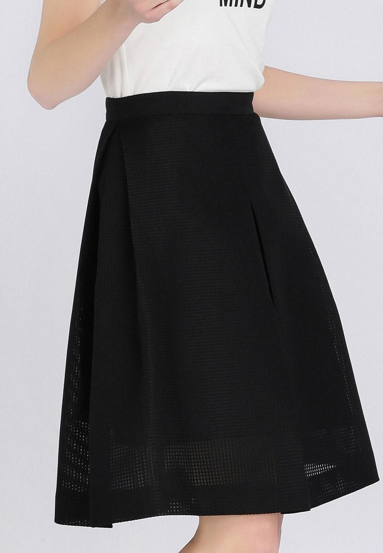 Skirt Hopeshow Black Plain Plain Black Flared Plain Hopeshow Flared Skirt Skirt Black Hopeshow Flared Hopeshow H8tWqUwnW