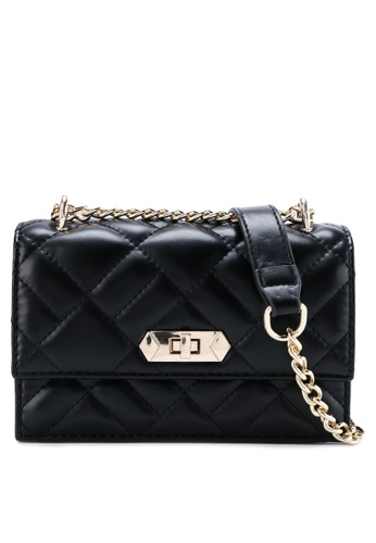 Aamour black Chandler Bag 412A3ACE64424EGS_1