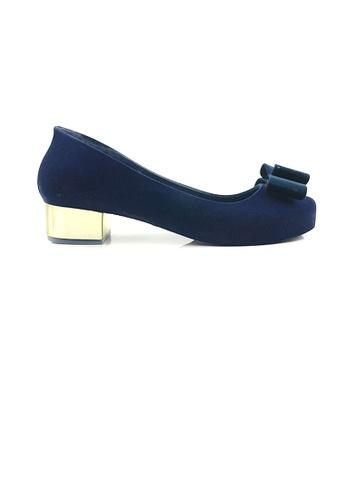 SHINE blue Ribbon Jelly Heels BF027SH63F7274GS_1