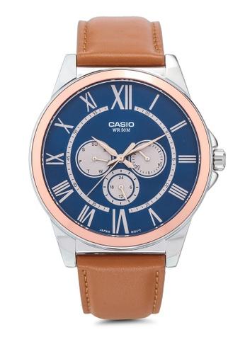 Casio brown Casio MTP-E318L-2BVDF Watch 974E4ACDA5CB29GS_1