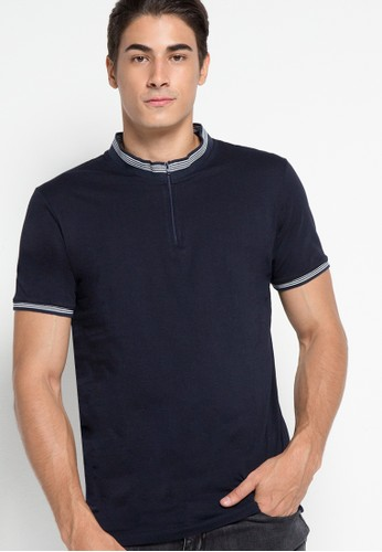 Stand Up Collar Polo