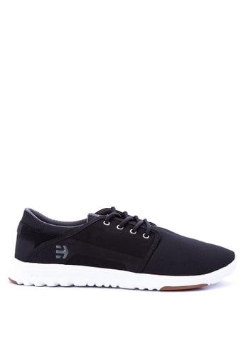 Etnies black Scout Sneakers 1ACF7SH5450D21GS_1