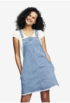 33ddcc46099 Cotton On blue Classic Denim Pini Dress B740EAA41A49E6GS 1