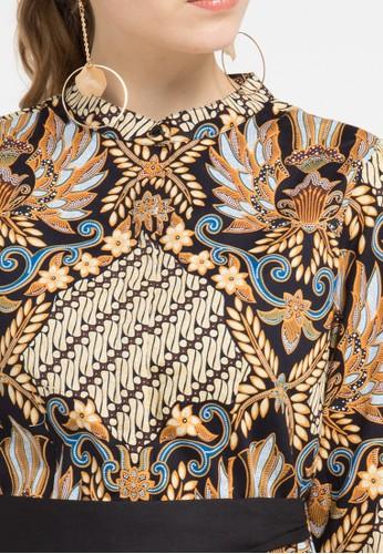 Jual Batik Solo Dress Cotton Print Original