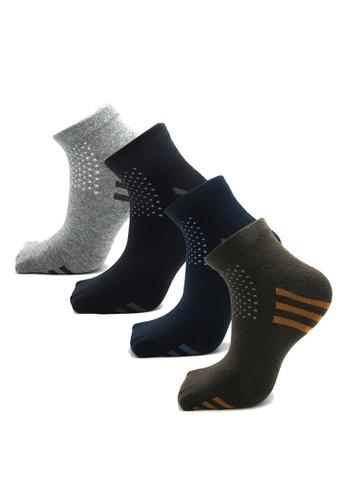 Balmoral Mens multi 3 Pairs Casual Sport Socks 36B3AAA5BC58F8GS_1