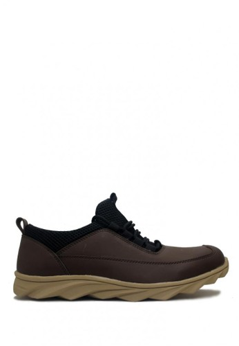 D-Island brown D-Island Shoes New Slip On Sporty Fashionable England Brown DI594SH0VXXKID_1