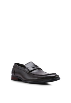 32450e5868f UniqTee Leather Formal Dress Shoes With Penny Strap RM 139.98. Sizes 41 42  43 44 45