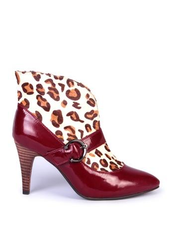 Sunnydaysweety 紅色 斷碼大特價豹紋高跟鞋S01214RD C693CSH8F7B21FGS_1
