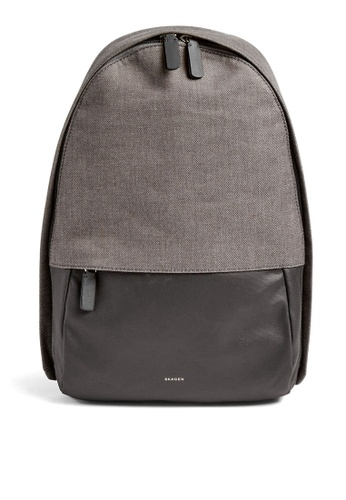 Skagen grey Skagen Kroyer 2.0 Grey Backpack SMH0259044 79957AC9CF09F4GS_1