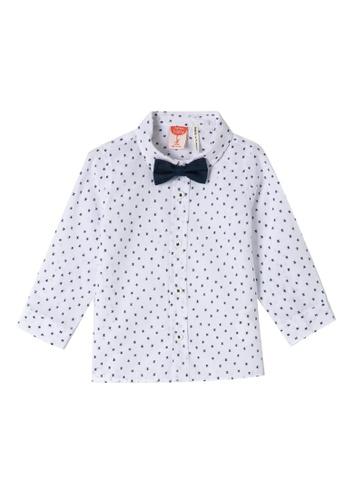 KOTON white Print Shirt 0FB23KA0206F42GS_1