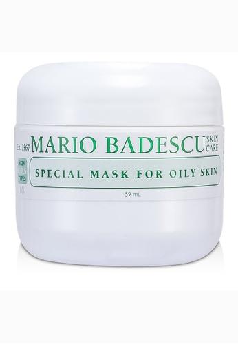 Mario Badescu MARIO BADESCU - Special Mask For Oily Skin - For Combination/ Oily/ Sensitive Skin Types 59ml/2oz C5CF0BE3935B25GS_1