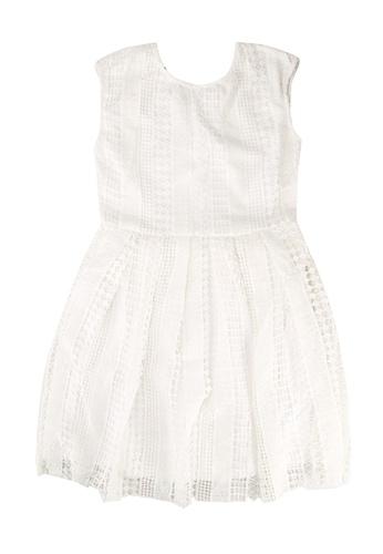 FOX Kids & Baby white Kids Girl Openwork Dress 985D5KA4BAFE8DGS_1