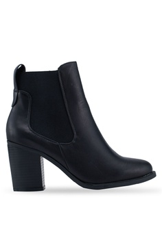 a6e01088ef6e11 Rubi black Bella Heeled Gusset Boots 4F8C7SH866D035GS 1
