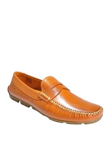 Sebago brown Hugo Penny Driving Shoes 2027CSH0C5D96FGS_1