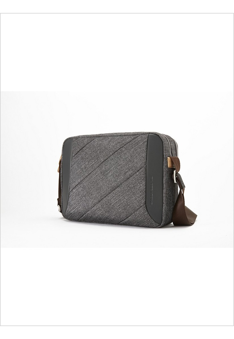 Double FX Compartment Creations FX Bag Grey Creations MAY Messenger FBwYESx
