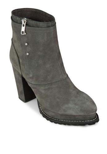 Slip Oesprit品牌介绍n Block Heel Boots, 女鞋, Tomboy Chic