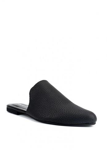 Mario D' boro Runway black Zoey Flat Shoes E9236SHDC5D668GS_1