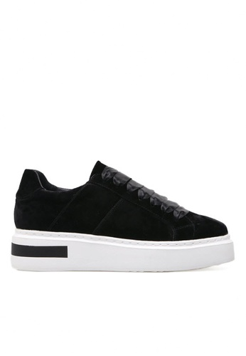 Twenty Eight Shoes black Ribbon Squared-toe Platform Shoes 010-9 TW446SH2V3K3HK_1