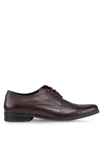 ALDO brown Chelisa Derby Lace Ups 32813SH45F8F99GS_1