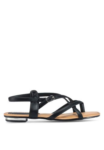 Mimosa black Strappy Sandals 829FDSHC6F94EAGS_1