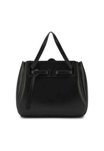 LOEWE 黑色 Loewe Mini Lazo 斜背包(黑色) 8B86FAC0002AACGS_1