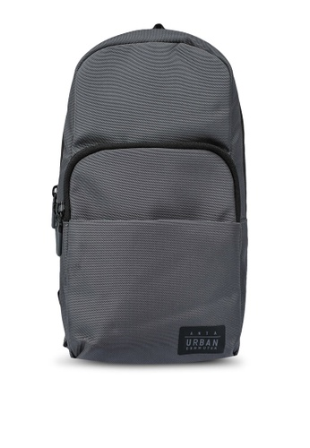 Anta grey Great Traveller Chest Bag 4BC7AACA34D0C7GS_1