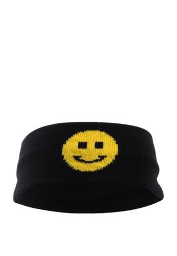 London Rag black Smiley Head Band 29861AC63C024FGS_1