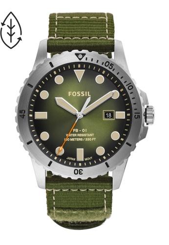 Fossil green FB - 01 Watch FS5863 54111ACEB7C5C7GS_1