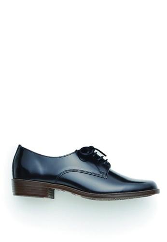 HARUTA black Lace-Up Shoes 236 Black CEB58SH4B26384GS_1