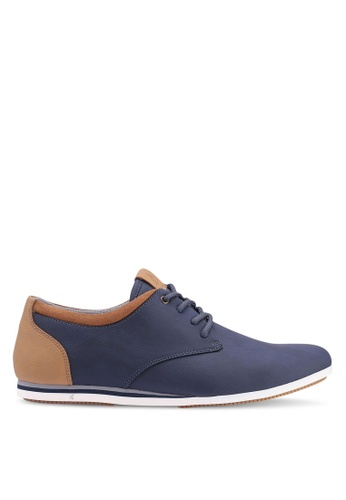 ALDO navy Aauwen Derby Shoes EE917SHB78845DGS_1