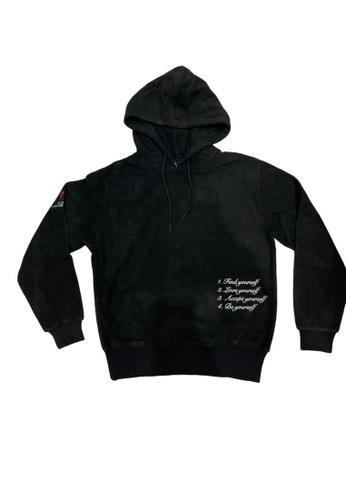 CLOT TEE black YOURSELF HOODIE E0B05AAE16FBD4GS_1