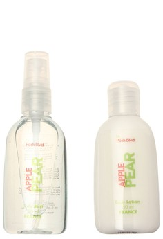 Apple Pear Body Mist and Lotion