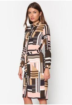 Long Sleeves Midi Selina Shirt Dress