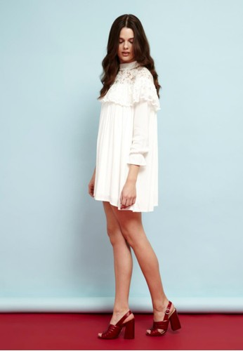 Dzalora時尚購物網的koumi koumielicate Darlings Lace Dress, 服飾, 派對洋裝