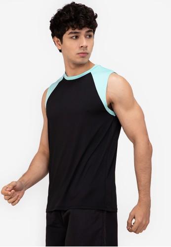 ZALORA ACTIVE multi Raglan Cap Sleeve Muscle T-Shirt 276B0AA7708F78GS_1