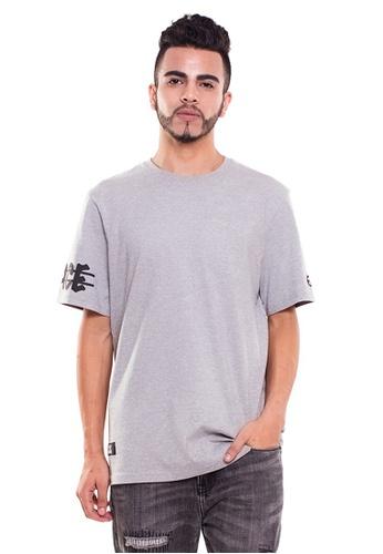 Reoparudo 灰色 RPD 手䄂太空標誌印花T恤(灰色) B3E60AAB2C83E9GS_1