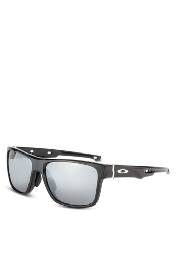 Oakley black Active Performance OO9371 Sunglasses OA636GL20GQLMY_1