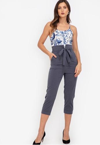 ZALORA WORK multi Cami Tailored Jumpsuit C0428AACB21318GS_1