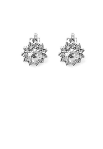 Glamorousky silver Enchanting Non Piercing Earrings with Silver Austrian Element Crystal and CZ 2A9D0AC874CD32GS_1