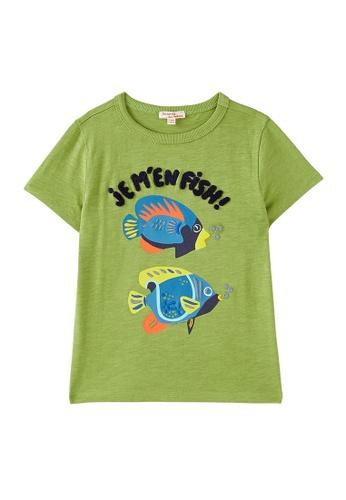 Du Pareil Au Même (DPAM) green Green T-shirt BF476KABC9C3B5GS_1