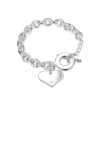 Glamorousky silver Sweet Heart Bracelet 23530ACF317F7CGS_1