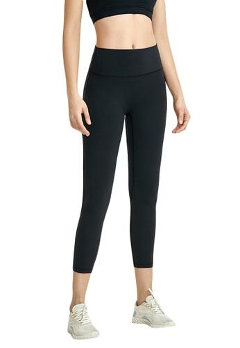 B-Code black ZWG7022Lady Quick Drying Running Fitness Yoga Sports Leggings -Black 66EFAAABACFCC8GS_1