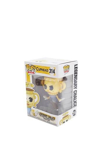 FUNKO yellow Funko Pop Cuphead S1 - Legendary Ghost 916CDTH0079CECGS_1