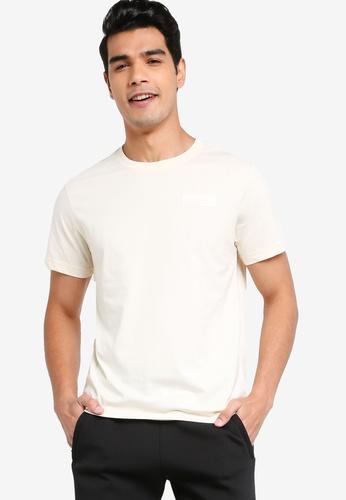 361° white Sports Life Short Sleeves T-shirt 40C03AAF44CEEBGS_1