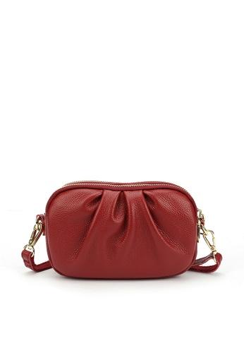 HAPPY FRIDAYS Three Layer Zipper Leather Shoulder Bags JN3050 A9174AC71A25AFGS_1