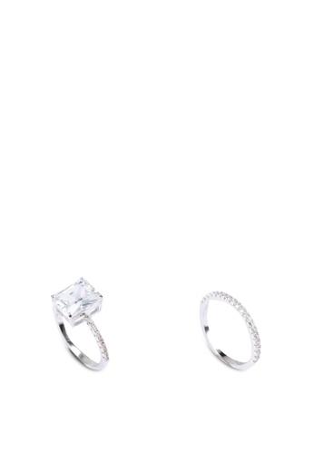 ALDO multi and silver Varfell Rings Set CE34EACB71B7FDGS_1