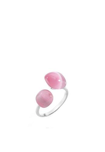 Morellato silver Gemma Ring SAKK34012 925 Silver Crystal Cat Eye C54BEAC689F81DGS_1