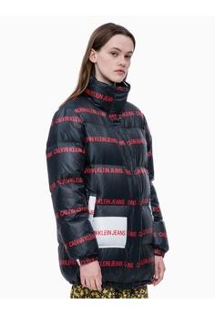 8455ea7f82d Calvin Klein Calvin Klein Multi-logo Puffer Jacket 417E6AA6349438GS 1