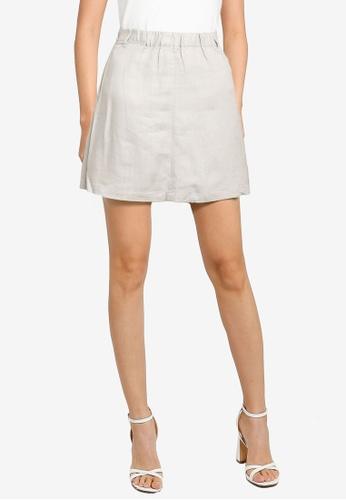 Heather grey Casual Shorts D08B9AA79C2BEFGS_1